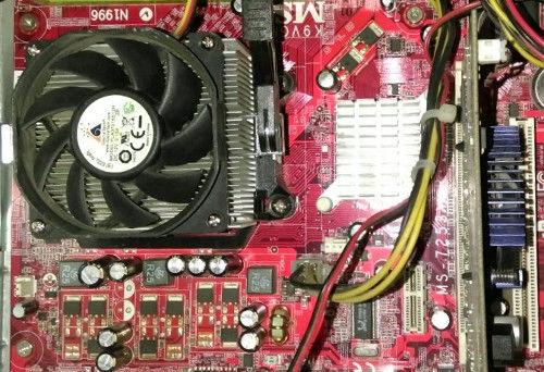 Чистка компьютера от пыли в Новосибирске
