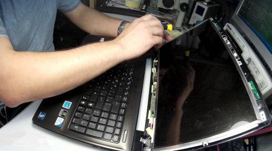 Замена матрицы ноутбука в Новосибирске